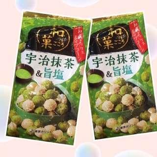 日本直運 宇治抹茶 零食