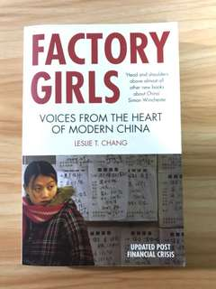Factory Girls Voices from the heart of modern China