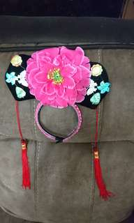 Chinese hair decoration head band