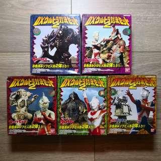 Bandai 鹹蛋超人對決 VOL. 2食玩盒蛋 共5盒