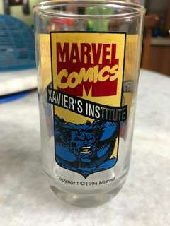 5x MARVEL X-MEN GLASS