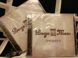 New Boyz II Men Twenty CD Album