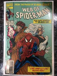 WEB OF SPIDER-MAN #113