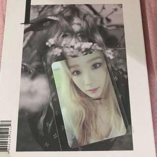 少女時代 Girl's Generation 泰妍 I 專輯 album 連小卡