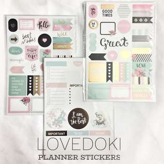 [Pre-order] Planner Stickers
