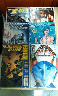 Assorted Top Cow, DC and Marvel comics. New. Price for one issue.