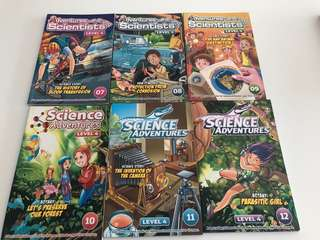 Adventures with Young Scientists Level 4 No 7-12