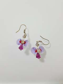 Handmade angel earrings