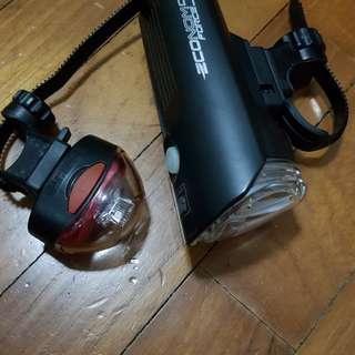 Front and Rear Bike Light (CATEYE)
