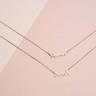 CUSTOM MADE STAINLESS NAME NECKLACE