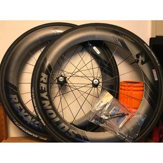 Reynolds Aero 80 clincher Carbon wheelset
