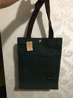 全新尼龍手挽袋(綠色)
