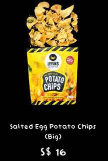 Irvin's Salted Potato Chips!