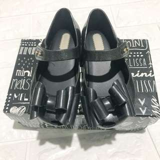Mini Melissa Ultragirl Black Shoes