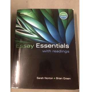 Essay Essentials with readings