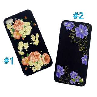 Floral Soft Case for iPhone 7/8