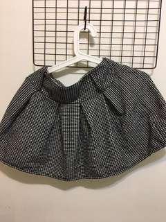 🚚 千島格紋裙