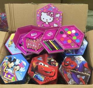 250                 ART   SET   46 (46 PCS  IN 1 )                        POST  DESIGN  AVAILABLE                                         NEW   ARRIval