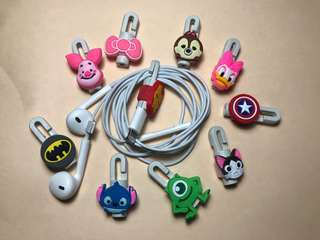 Earphone Line Protector and winder