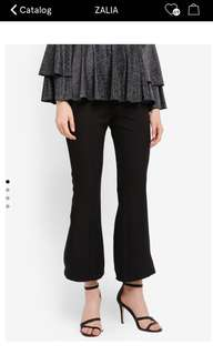 Tiered Lace Frill Flare Pants Size L