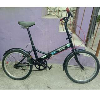 LUFFY FOLDING BIKE (FREE DELIVERY AND NEGOTIABLE!)