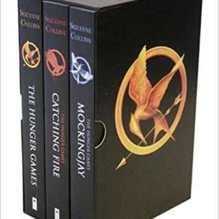 Hunger Games Trilogy (with the box)
