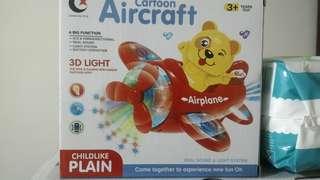 小熊閃亮飛機