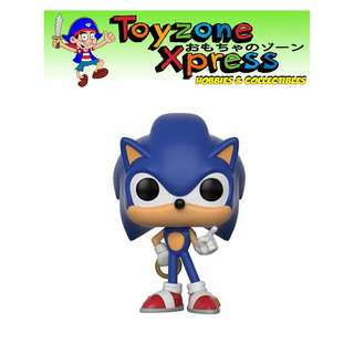 Sonic the Hedgehog with Ring Pop! Vinyl Figure