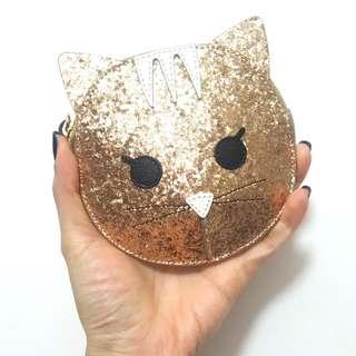 Furla coin purse kitty cat