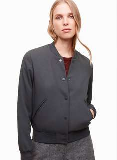 (Brand New) Aritzia Wilfred Poussin Bomber