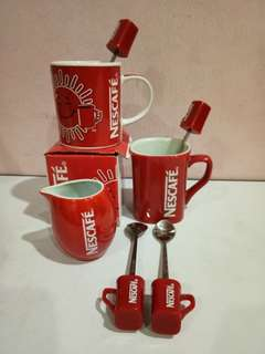 Nescafe mug spoon collectible