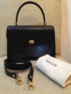 Vintage Bally Kelly Bag with sling