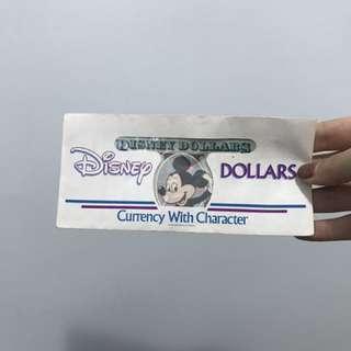 迪士尼紀念紙幣