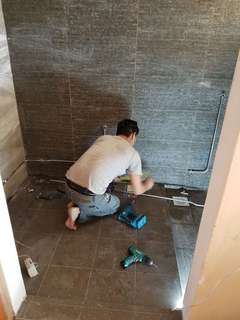 Bathroom Makeover Including Hacking & Waterproofing Package Best Price