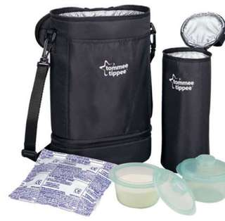 Tommee Tippee insulated twin bottle carrier