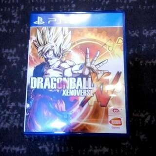 Dragonball Xenoverse PS4 Game