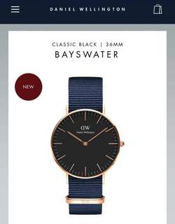 DW CLASSIC BABYSWATER & ROSELYN