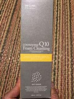 Coenzyme Q10 Facial Foam Cleanser- Anti-Sebum
