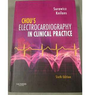 Chou's Electrocardiography in Clinical Practice 6th Edition