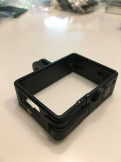 GoPro Hero 3/4 slim case. Quick release clip for easy Cam removal.