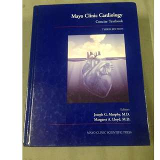 Mayo Clinic Cardiology Concise Textbook 3rd Edition