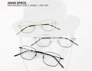 Korean Style Eyewear Frame (FREE POUCH AND WIPER)