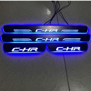 Toyota C-HR LED scuff plate 2017-2018