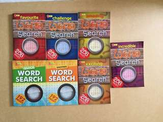 Word search books