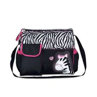 Diaper bag-zebra (brand new)