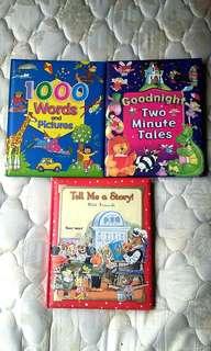 Children's Books Cushion Hard Cover