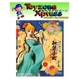 Banpresto - One Piece Figure Waso Komachi - Nami (B)