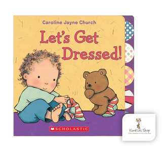 Let's Get Dressed! Baby board book