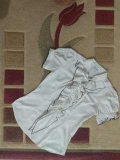 Mint broken white shirt