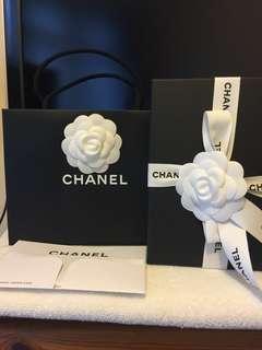 全新Chanel Medium Flap Wallet 茘枝皮淡金扣